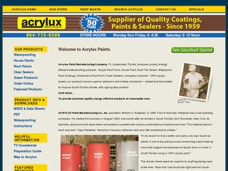 Acrylux Paint Manufacturing