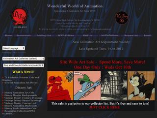 Animation Art Gallery