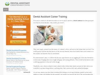 Dental Assistant Training