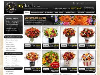 Florist Delivering Flowers