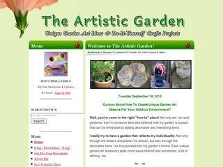 Unique Garden Art Crafts
