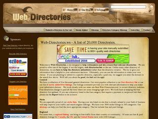 Web Directories List